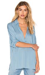 Блуза с v-образным вырезом - Vince