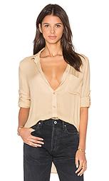 Рубашка на пуговицах со вставкой сзади - Bella Dahl