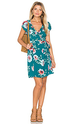 Платье с запахом pretty primrose wrap - MINKPINK