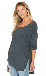 Asymmetrical boyfriend top - Lanston