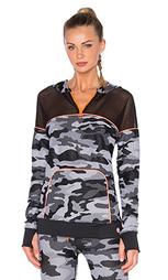 Куртка с молнией спереди congo camo - Trina Turk