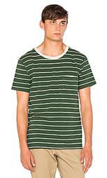 Полосатая футболка с карманом - Mollusk