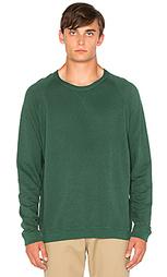 Шерстяной свитер с рукавами-реглан и круглым вырезом - Mollusk