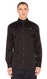 Рубашка с двумя пуговицами на воротнике - Vivienne Westwood Man