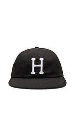 Шляпа с шестью вставками formless classic h - Huf