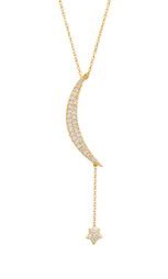 Цепочка natalie b large moon & star - Natalie B Jewelry
