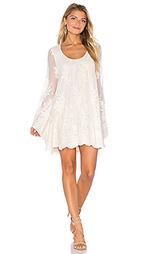 Платье с плиссированной юбкой fannie - Show Me Your Mumu