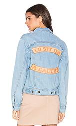 Джинсовая куртка go sit on a cactus - Understated Leather