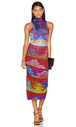 Миди платье с высоким воротом radial - Mara Hoffman