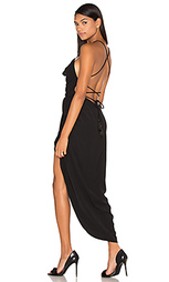 Макси платье с широким вырезом на шнуровке leticia - Shona Joy