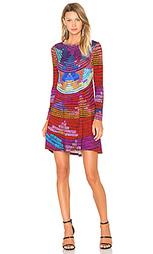 Мини платье с переплетом radial - Mara Hoffman