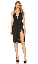 Plunge zipper dress - Michelle Mason