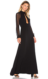 Вечернее платье с высоким воротом - JILL JILL STUART