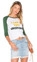 Футболка i love you green bay - Junk Food