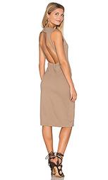 Платье-чехол с открытой спиной - BLAQUE LABEL