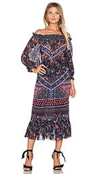 Макси платье elisa - SALONI