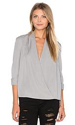Блуза с ложным запахом - BLAQUE LABEL