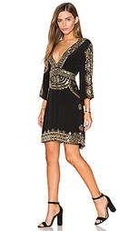 Короткое платье в восточном стиле - Tessora