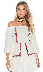 Блуза с открытыми плечами devi - PIPER