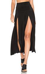 Плиссированная юбка - Norma Kamali