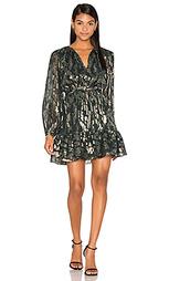 Платье богемного стиля с металликом - Cynthia Rowley