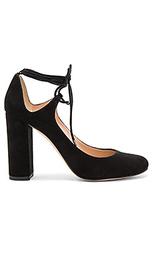 Полусапожки с каблуком на шнуровке - Pura Lopez