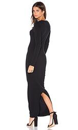 Узкое платье с разрезом - James Perse
