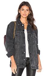 Свободная джинсовая куртка daze - DENIM x ALEXANDER WANG