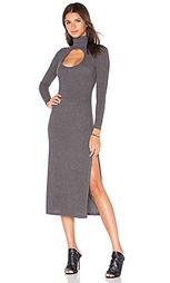 Платье с вырезом и высоким воротом - Capulet