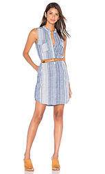 Полосатое платье на пуговицах - BLANKNYC