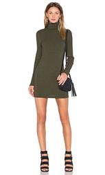 Платье с длинным рукавом и высоким воротом - J.O.A.