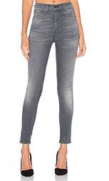 Укороченные джинсы с высокой посадкой - rag & bone/JEAN