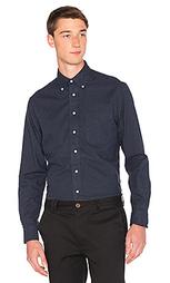 Классическая фланелевая рубашка на пуговицах - Gitman Vintage