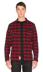Фланелевая рубашка на пуговицах tardy - Huf