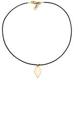 Кожаный чокер diamond - Vanessa Mooney