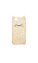 Чехол для iphone 6/6s glitter cat - kate spade new york