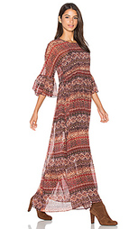 Макси платье с коротким рукавом - BCBGeneration