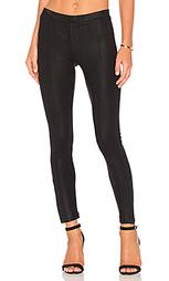 Узкие брюки с покрытием - Heather