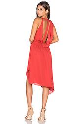 Мини платье с запахом без рукавов - Haute Hippie