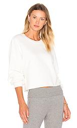 Укороченный свитшот-пуловер - LACAUSA