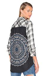 Рубашка с застёжкой на пуговицах emma - Tolani