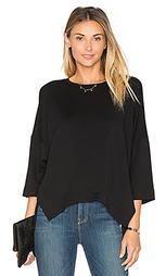 Пуловер из футера - Heather