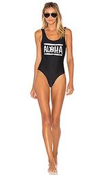 Слитный купальник aloha - Aila Blue