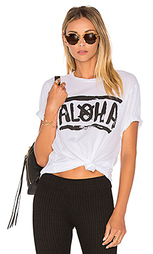 Свободная футболка - Aila Blue