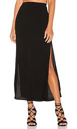 Длинная юбка с разрезом - MONROW