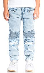 Рваные джинсы для байка clayton - Haus of JR