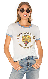 Футболка tiger savages - Obey