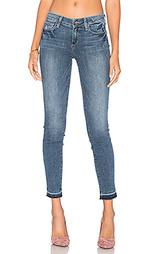 Укороченные джинсы с необработанным низом verdugo - Paige Denim