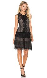 Платье из полупрозрачной ткани с рисунком avery - Marissa Webb