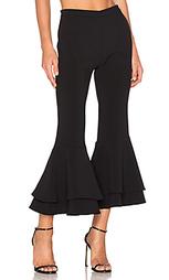 Укороченные брюки с двойными рюшами supafly - Backstage
